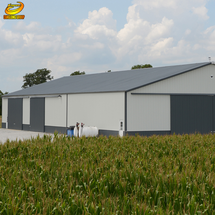 High Quality Low Cost Light Steel Structure Industry Shed