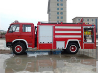 dongfeng medium foam tanker fire fighting truck for sale