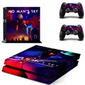 Newest design vinyl self-adhesive decal for PS4 console and controller