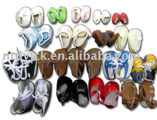 Fashion doll shoes for 18 inch plastic dolls