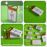 IEC62133 UN38.3 UL Approved China Wholesale 3.7v 100mah 120mah 130mah 150mah Lipo Battery 501235