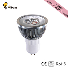 Super bright GU10 MR16 E27 aluminum spot light 3W 5W 7w cob GU5.3 led spot light