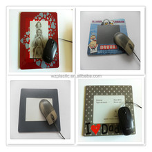 best selling photo frame mouse pad /insert photo mouse pad