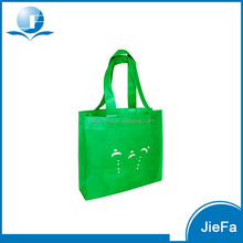 Fashion style foldable pictures printing non woven shopping bag