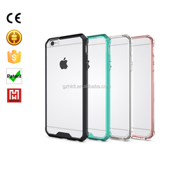 Wholesale new transparent plastic phone case for iphone 6 plus clear case