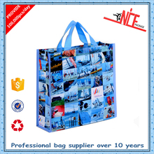 China manufacturer custom made bopp laminated recycled pp woven shopping bags