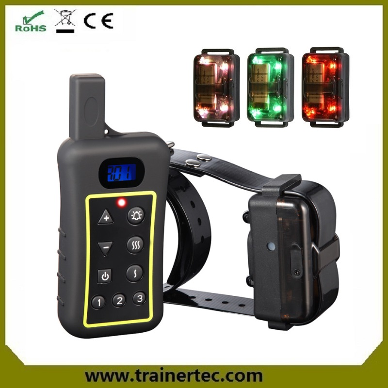 Highlight LED function allows you to find pet from 200~300 meters away electronic collars for dogs