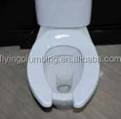 Toilet seat for handicap open front seat elongated F1092D