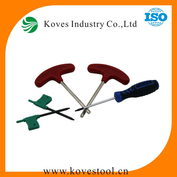 ISO standard prefessional hand tools Allen Key T Handle Hex Key for cnc tools