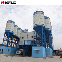 ISO approved good performance hzs60 ready mix concrete batching plant with low cost