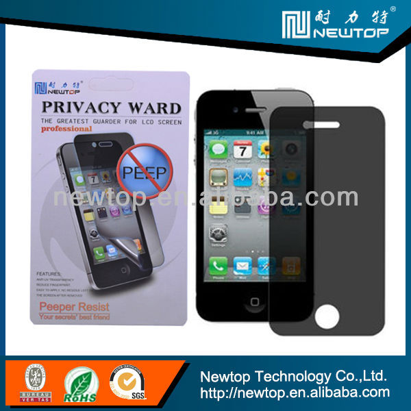 China suppliers privacy screen protector galaxy mega 6.3 i9200