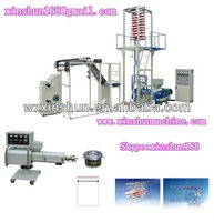 professional manufacturer for zip bag film blowing machine