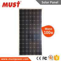 For Solar Energy And Solar System China Manufacturer 100 W Mono Photovoltaic Solar Panel Price