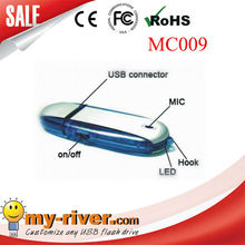 USB with recorder flash drive 2GB mini promotion gift