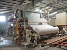 Single Cylinder And Single Wire Toilet Paper Machine