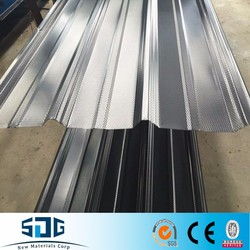 China metal roofing material ppgi steel sheet prefab houses