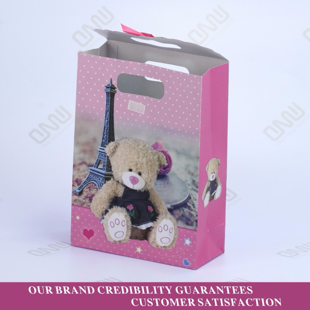 small beautiful Teddy Bear Color packaging Boxes