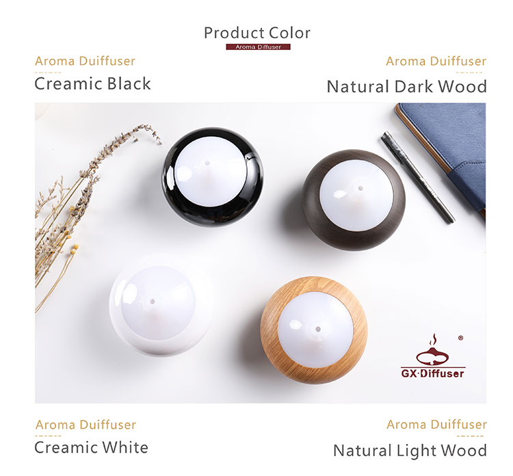 2018 pureness type water drop shape fea gx-02k aroma essential oil diffuser private label