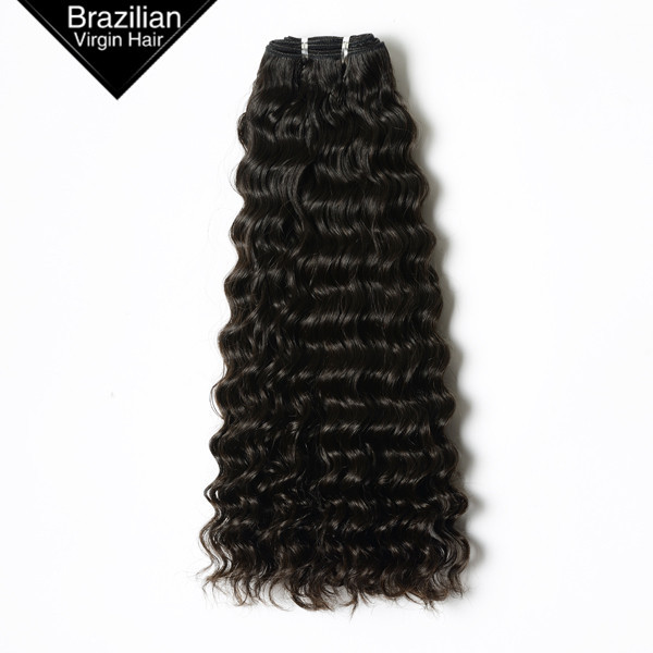 2016 Supper Grade and Human Hair Material Gray Remy Brazilian Hair Extensions