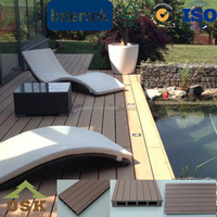 Swimming pools wood plastic composite engineered wood flooring
