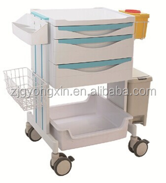 Hospital Emergency crash cart/ theater nursing trolley