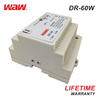 **WODE Low Price AC to DC 5v 5A 12v 24v 60w Din Rail Smps Switching Power Supply