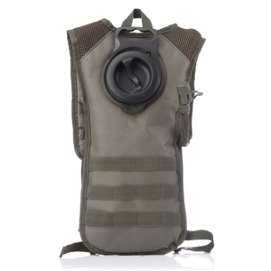 camping hiking drinking cycling military 3L water carrier backpack