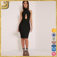 Hot selling sexy sheer women midi dresses, fashion midi and maxi dresses, midi bodycon dresses