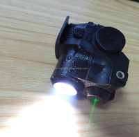Glock Laser sight with adjustable colors in red,green and red dot