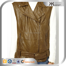Costume Leather Biker Vest/Plus Size Leather Clothing