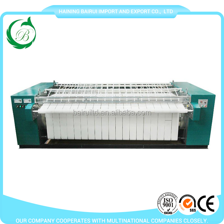 Electric/Steam Heating Industrial ironing laundry flatwork ironer used laundry equipment