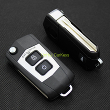 Blank New 3 Buttons Modified Key Shell for KIA Soul Key Case With Logo