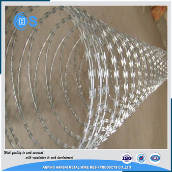 bwg standard galvanized barbed wire/pvc coated barded wire