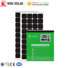 500W LED home solar lighting system with 3 years guarantee
