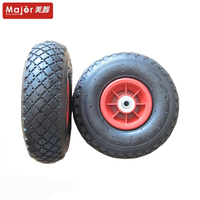 strong quality rubber 3.00-4 pneumatic tricycle wheel for sale