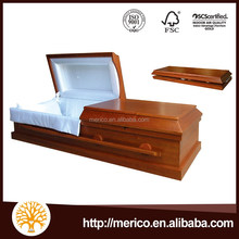 CONCORD brown color polished best price cardboard coffin