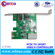 2 serial port pci card to USB3.0 converter