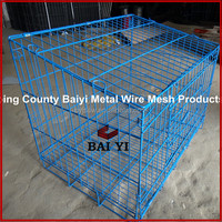 Baiyi Single Rabbit cage /small animal cage/Single Door Rabbit Trap Cage