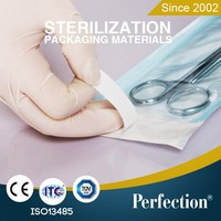 Supply Sterilization Flat Reel Pouch Medical