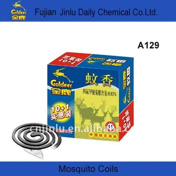 Goldeer black smokeless mosquito coil incense
