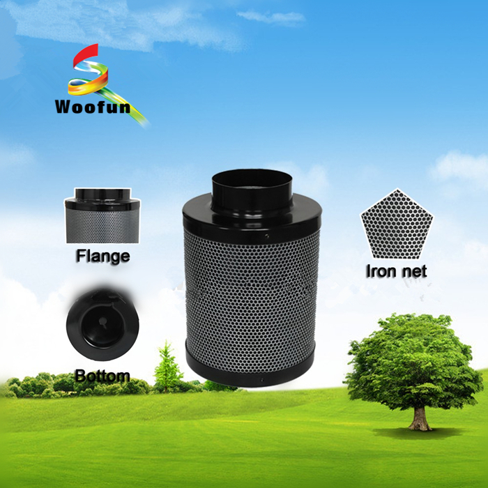 Customized Active Carbon Filter With Stainless Steel Mesh