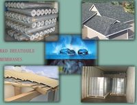 Breathable Membranes for Building Roofing and Wall/house wrap