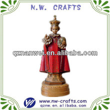Unique religious polyresin figure