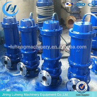 WQP QWP Stainless Steel Submersible Sewage Pump stainless steel impeller submersible pump