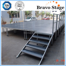 Popular Aluminum Stage Trailer Mobile Stages For Sale Stage Truss