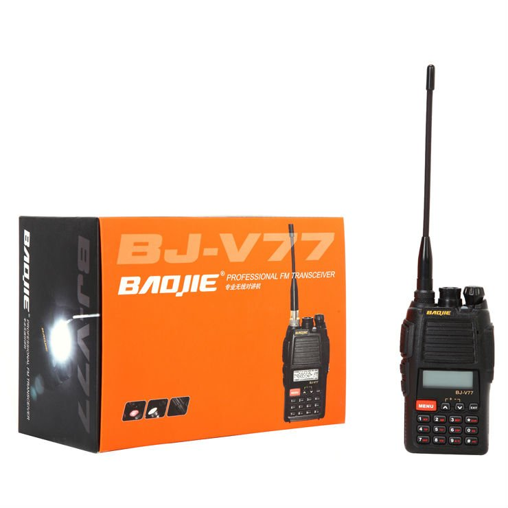 electronics gadget!! radio transceiver headset BJ-V77 with military 2 way radio