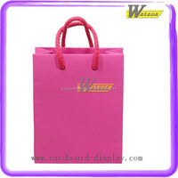 Cotton Handle Foldable Cheap Paper Shopping Bag