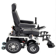 2017 hot sell Lightweight Electric power wheelchair with adjustable leg