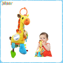 Jollybaby lovely and colorful music hanging toys kids bell, cute bells toys with musical pull string for baby