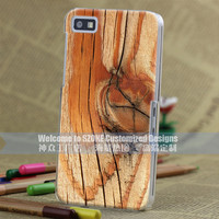 Wooden Heart Mix design brand BUSTYLE mobile phone cover for Blackberry z10 high quality 3D coarse-grained case